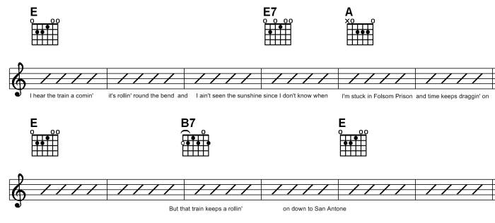 Lesson 12 - Folsom Prison Blues